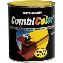 Rustoleum 7300.0.75 [CL] CombiColor 3-in-1 Primer/Finish 750ml - Safety Yellow RAL 1007
