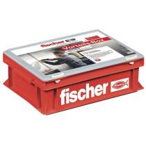Fischer 91524 Craftsman Small Heavy Duty Plastic Storage Box with Lid