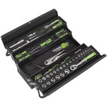 Sealey S01216 Cantilever Toolbox with Tool Kit 86 Piece