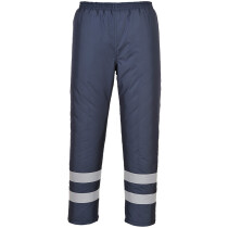 Portwest S482 Iona Lite Lined Trousers  Iona™ Rainwear - Navy Blue