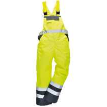 Portwest S488 High Visibility Contrast Bib & Brace - Unlined