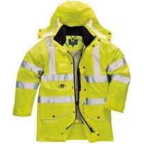 Portwest S427 Hi-Vis 7-in-1 Traffic Jacket - Yellow