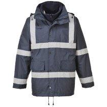 Portwest S431 Iona 3 in 1 Traffic Jacket Rainwear - Navy Blue