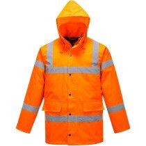 Portwest S460 Hi-Vis Traffic Jacket High Visibility - Orange