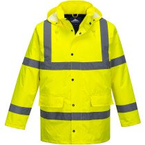 Portwest S460 Hi-Vis Traffic Jacket High Visibility - Yellow