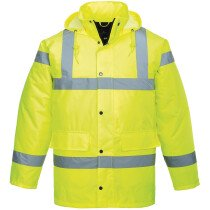Portwest S461 Hi-Vis Breathable Jacket High Visibility - Yellow