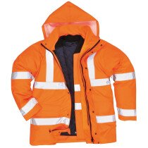 Portwest S468 Hi-Vis 4-in-1 Traffic Jacket - Orange