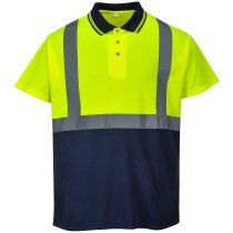 Portwest S479 Hi-Vis Two-Tone Polo High Visibility - Various Colours