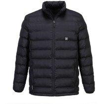 Portwest S547 X3™ Ultrasonic Heated Tunnel Rainwear Jacket - Black