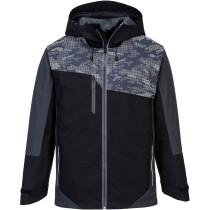 Portwest S601 X3™ Rainwear Reflective Jacket - Black/Grey