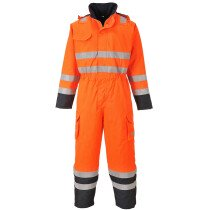 Portwest S775 FR Bizflame Rain Flame Resistant Hi-Vis Multi Coverall - Available in Yellow and Orange