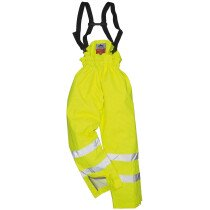 Portwest S781 Bizflame Rain Lined Hi-Vis Antistatic FR Trouser Flame Resistant