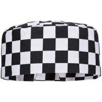 Portwest S895 Chefswear Harrow Chefs Skull Cap - One Size - Chessboard Check