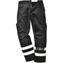 Portwest S917 Iona Safety Combat Workwear Trousers - Various Colours