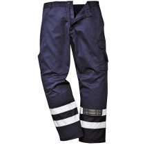 "Portwest S917 Iona Safety Combat Trousers Dark Navy Blue Medium (33""-34"" Waist - 33"" leg)"