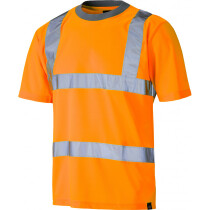 Dickies SA22080 High Visibility Safety T-Shirt Orange SA22080