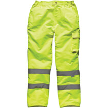 Dickies SA35015 Hi Vis Poly-Cotton Work Trousers High Visibility