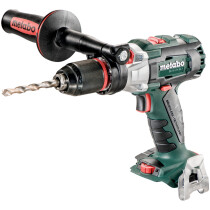 Metabo SB18LTXBLI Body Only 18V Brushless Combi Drill in Metaloc Case