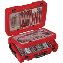 Teng Tools SC04E 100 Piece Engineers Portable Service Flight Style Kit