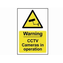 Scan 1311 Warning Sign CCTV Cameras In Operation - PVC 200 x 300mm