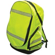 Scan SCAWWBACKPKY Hi-Visibility Back Pack - Yellow