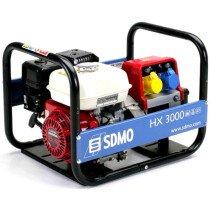 SDMO HX3000 2.9kW/3.625kVA 4 Stroke Petrol Honda GX200 Industrial Generator