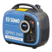 SDMO IPRO2000 2Kw Portable Inverter Generator (recoil start)