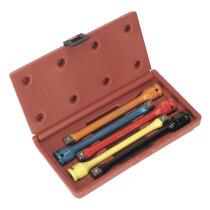 """Sealey AK2242 Torque Stick Set 5 Piece 1/2"""" Drive"""