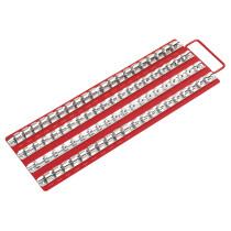 """Sealey AK271 Socket Rail Tray 1/4"""", 3/8"""" & 1/2"""" Drive"""