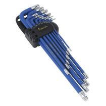 Sealey AK7165 TRX-Star Key Set 13 Piece Anti-Slip Extra-Long