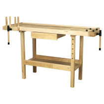 Sealey AP1520 Carpenter's Woodworking Workbench 1520 x 620 x 850mm