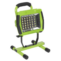 Sealey LED109C Cordless 30SMD LED Rechargeable Portable Floodlight Lithium-ion