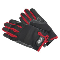 Sealey MG798L Mechanics Gloves Light Palm Tactouch - Large