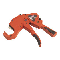 Sealey PC40 Plastic Pipe Cutter 6-42mm Capacity O/D