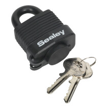 Sealey PL301W Steel Body Weatherproof Padlock 45mm