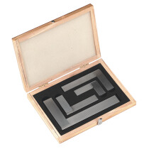 Sealey AK11000 Precision Steel Square Set BS939(B) 4 Piece