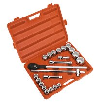 "Sealey AK2598 Socket Set 22 Piece 3/4"" Drive Metric"