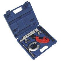 Sealey AK506 Pipe Flaring & Cutting Kit 10 Piece