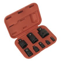 Sealey AK5900B Impact Socket Adaptor Set in Storage Case 8 Piece