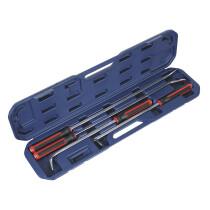 Sealey AK9100 Prybar Set 4 Piece Heavy-Duty