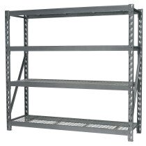 Sealey AP6572 Heavy-Duty Racking Unit with 4 Mesh Shelves 900kg Capacity Per Level