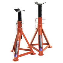 Sealey AS2500 Axle Stands 2.5ton Capacity per Stand 5ton per Pair
