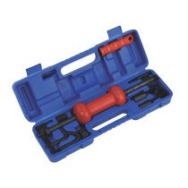 Sealey DP9/5B Slide Hammer Kit in Blow Mould Case 9 Piece