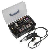 Sealey E5188 Multi-Purpose Rotary Tool & Engraver Set 188pc 230V