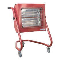 Sealey IRS153 Infrared Heater 1.5/3.0kW 230V 16A