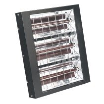 Sealey IWMH4500 Infrared Quartz Heater - Wall Mounting 4500W/230V