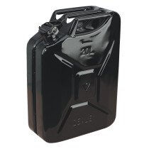Sealey JC20B Jerry Can 20ltr - Black