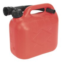Sealey JC5R Fuel Can 5ltr - Red