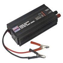 Sealey PI500 500W Power Inverter 12V DC - 230V 50Hz