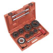 "Sealey PTK992 Pipe Threading Kit 3/8"" - 2"" BSPT"